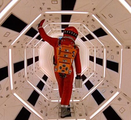 2001 a Space Odyssey di Stanley Kubrik (1968)