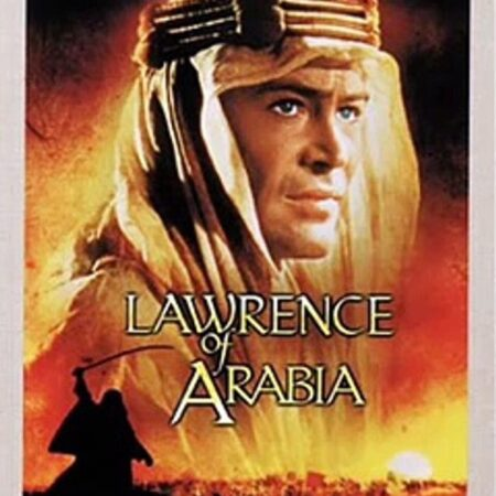 Lawrence d'Arabia di David Lean (1962)